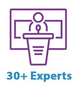 30 plus Experts