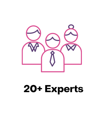 20+ experts